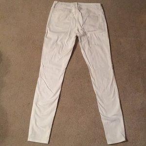 Decree Jeans - Decree White Skinny Jeans